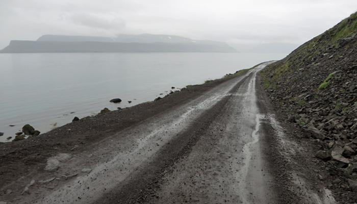 Straßenverhältnisse in Island