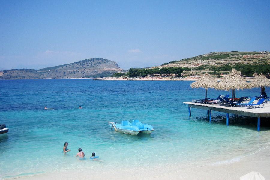 Strand im Süden Albaniens