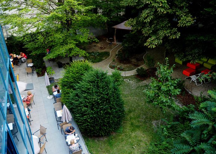 AllyouNeed Hotel Vienna2_guenstiges Hotel in Wien_Garten