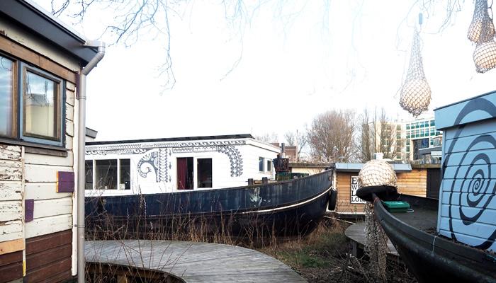 Tipps für coole Orte in Amsterdam_de Ceuvel nachhaltiges Projekt