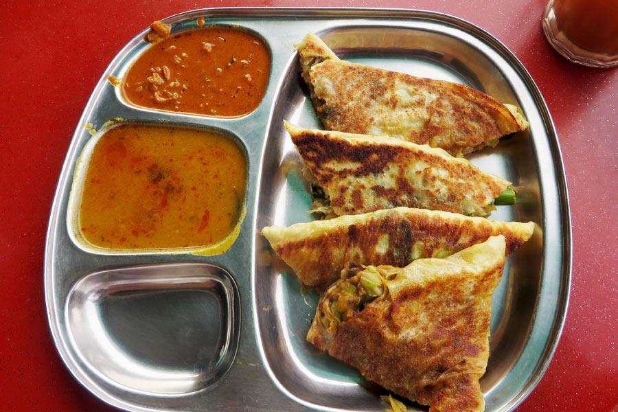 Indisches Essen in Malysia