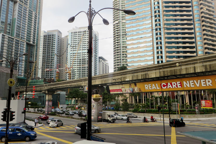 Malaysias Hauptstadt Kuala Lumpur