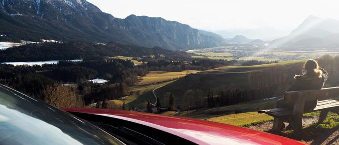 Roadtrip ins Kufsterinerland mit dem Mazda CX-3_Blick vom Niederndorferberg