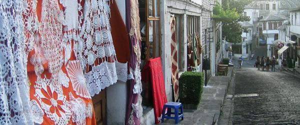 Der Bazaar in Gjirokastra