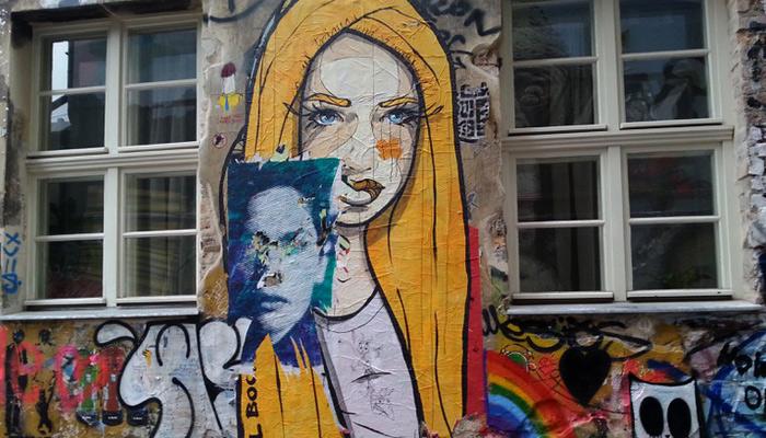 Street Art im Haus Schwarzenberg in Berlin