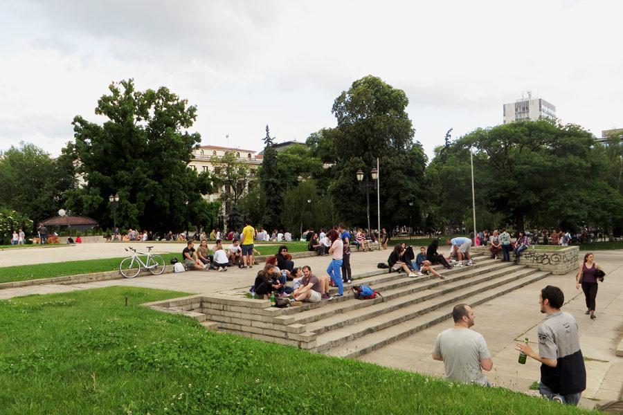 Park in Sofia, Bulgarien