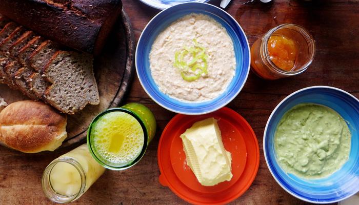 Frühstück im Casita Azul