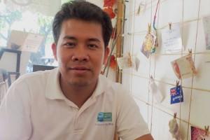 Lanh Sokha von der Organisation Concert in Kambodscha