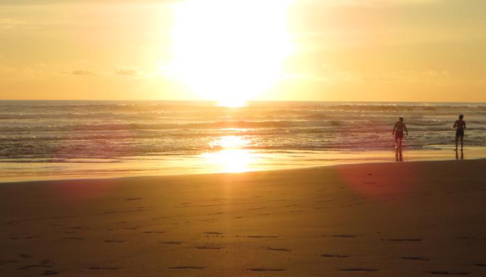 Schöner Strand in Matapalo_Costa Rica