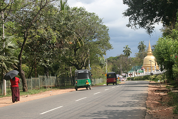 Tuk-Tuk in Sri Lanka