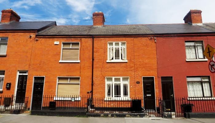 Häuser in Smithfield Dublin
