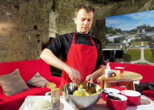 Edelweiss cooking school