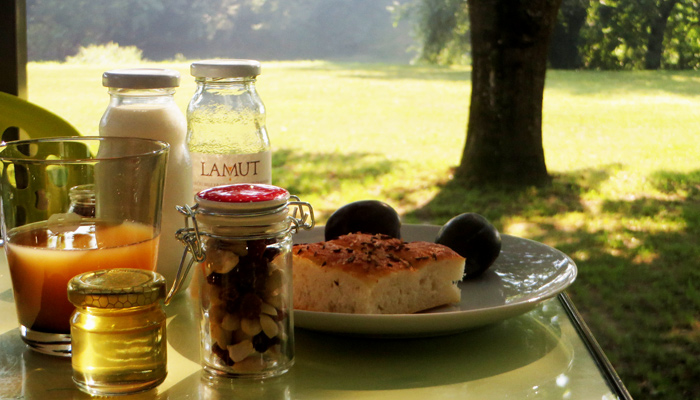 Frühstück Big Berry Slowenien