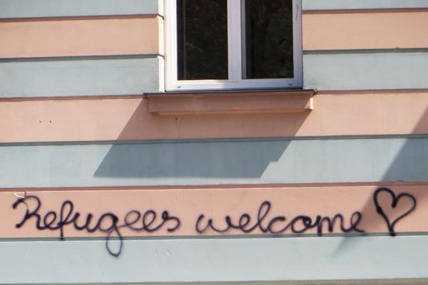 Flüchtlinge willkommen in Graz