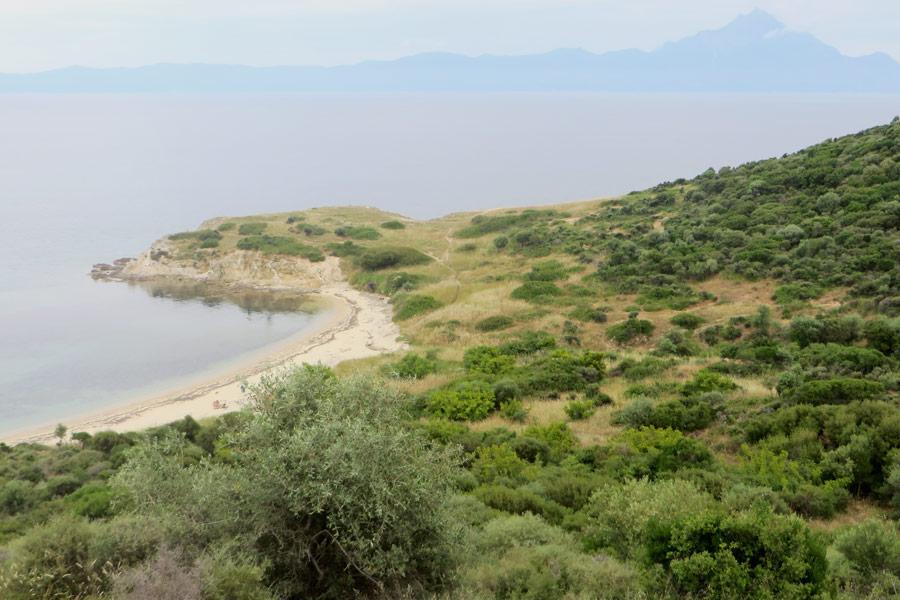Landschaft auf Sithonia, Chalkidiki