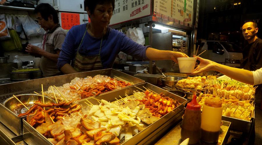 Garküche in Hongkong
