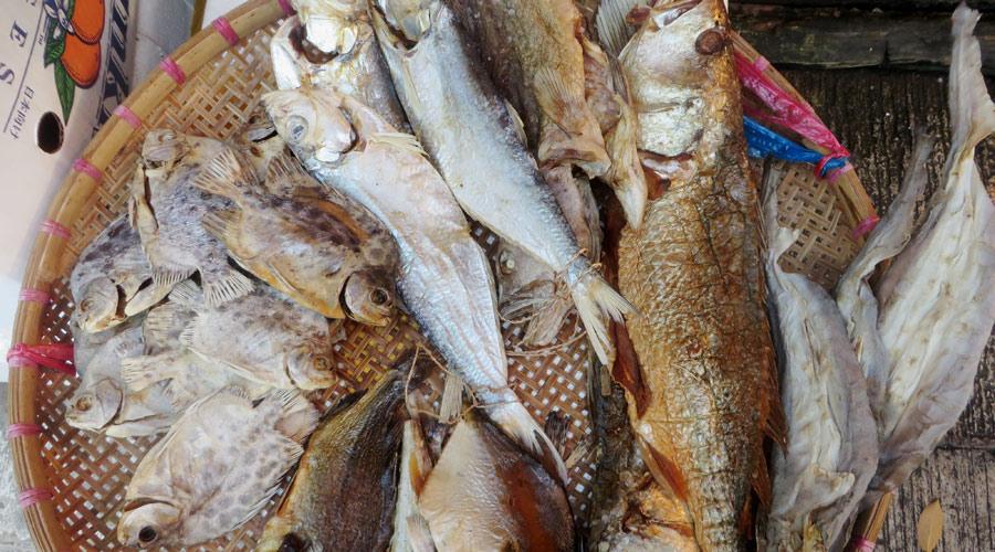 Fischmarkt in Tai O, Hongkong