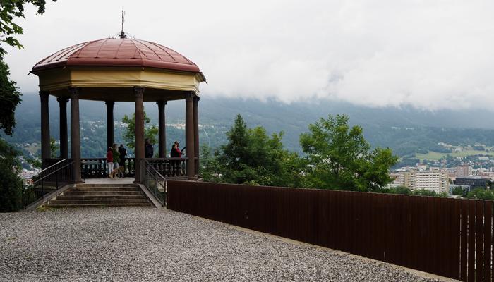 Pavillon am Bergisel in Innsbruck