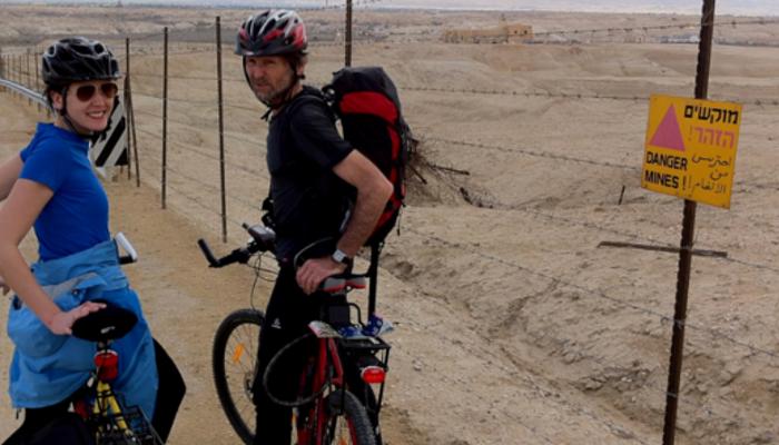 Die Einheimischen reagierten sehr positiv auf die Radfahrer aus Österreich, die ihr Land erkundeten.
