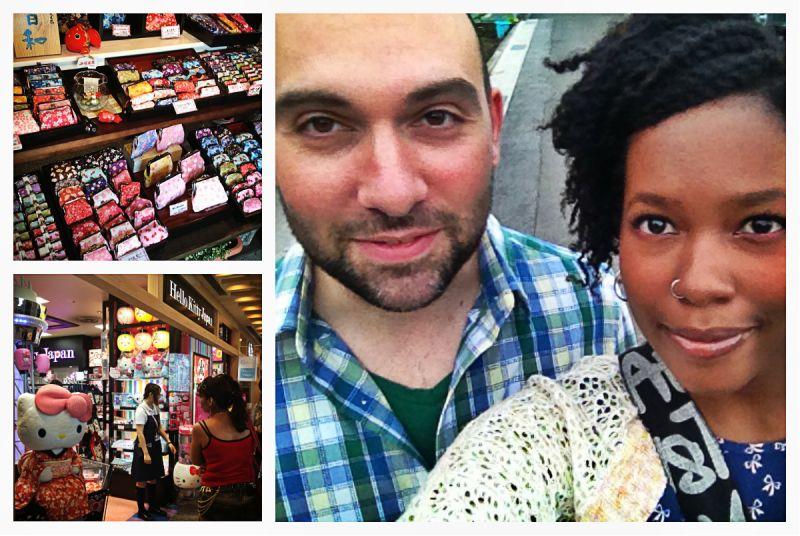 Alex & Nadine in Japan