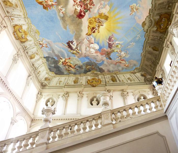 Kaisertreppe im Stift Göttweig Krems