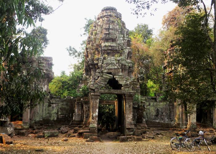 Preah Khan Tempel im Angkor Areal, Siem Reap, Kambodscha
