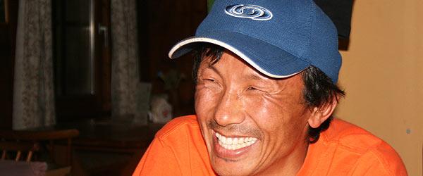 Mingma Nuru Sherpa aus Nepal ist jedes Jahr für einige Monate in Österreich.