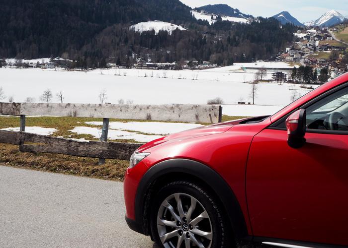 Roadtrip ins Kufsterinerland mit dem Mazda CX-3_Blick auf den Thiersee