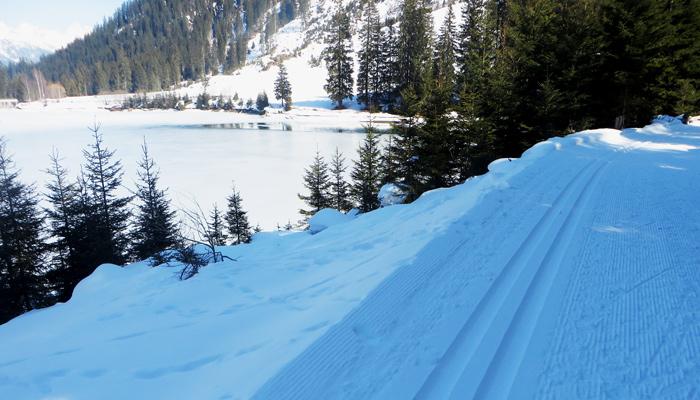 Langlaufloipe Verwall am Arlberg