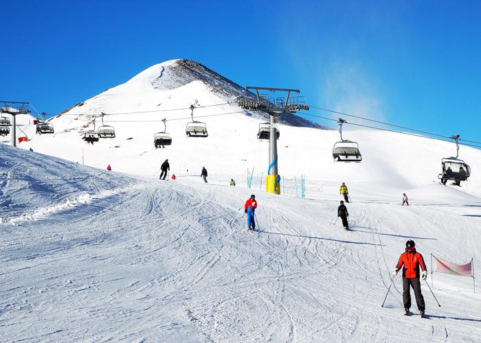 Skifahren in Livigno