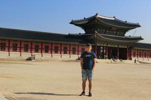 Manuel Häusler in Korea