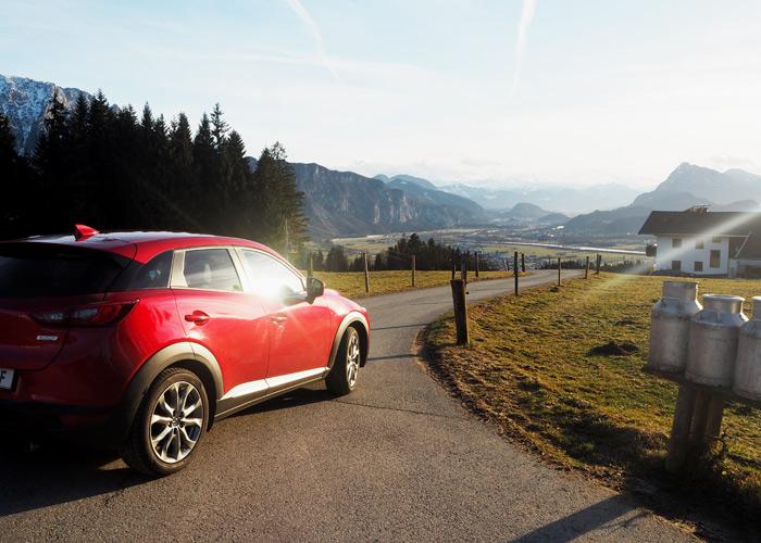 Roadtrip ins Kufsterinerland mit dem Mazda CX-3_Aussicht