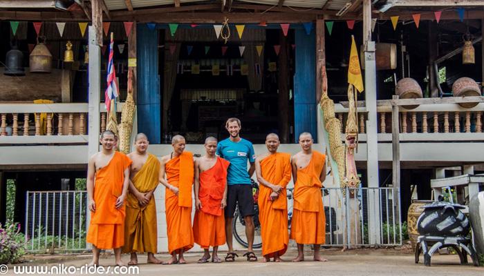 Weltreise Fahrrad Thailand