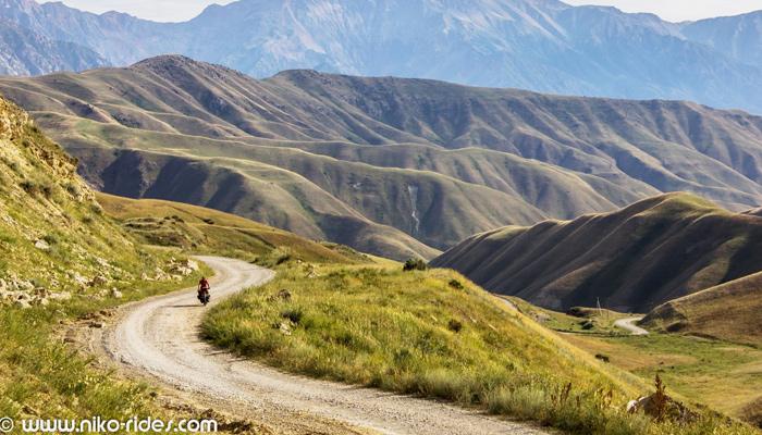 Weltreise per Fahrrad, Kirgisistan