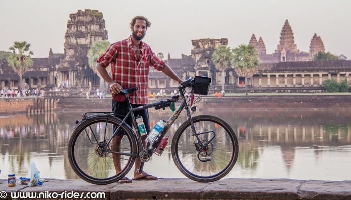 Fahrrad-Weltreise Angkor Wat
