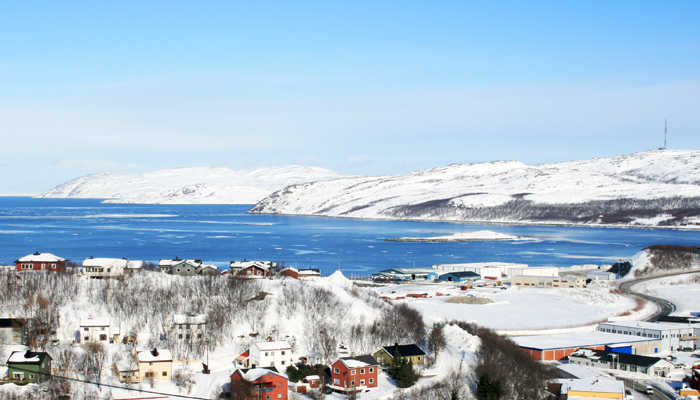 Kirkenes in Norwegen