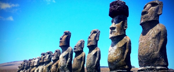 Im Südostpazifik liegt Napapiri - die Osterinseln.