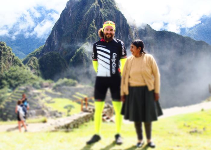 Helmut Pichler am Machu Picchu