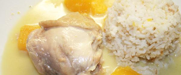Rezept für Philippinisches Kokoshühnchen