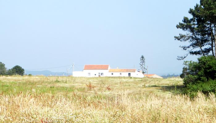 Haus im typischen Stil der Region Alentejo