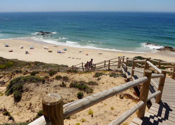 Wandern entlang Portugals Stränden