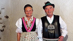 Südtiroler Trachtenpaar