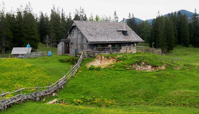 Salzkammergut BergeSeen Trail_Weitwanderweg in Österreich_Plankensteinalm