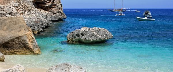 Cala Marilou auf Sardinien