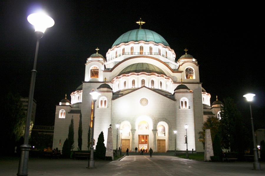 Dom der Heiligen Sava in Belgrad