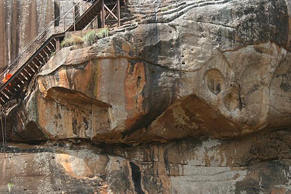 Sigirya, Felsenstadt in Sri Lanka