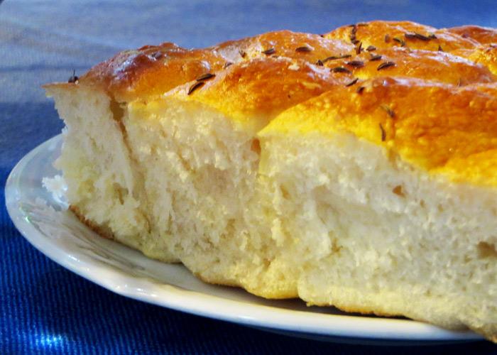Slowenische Küche Pogaca