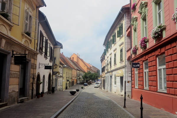 Stadt Ptuj in Slowenien