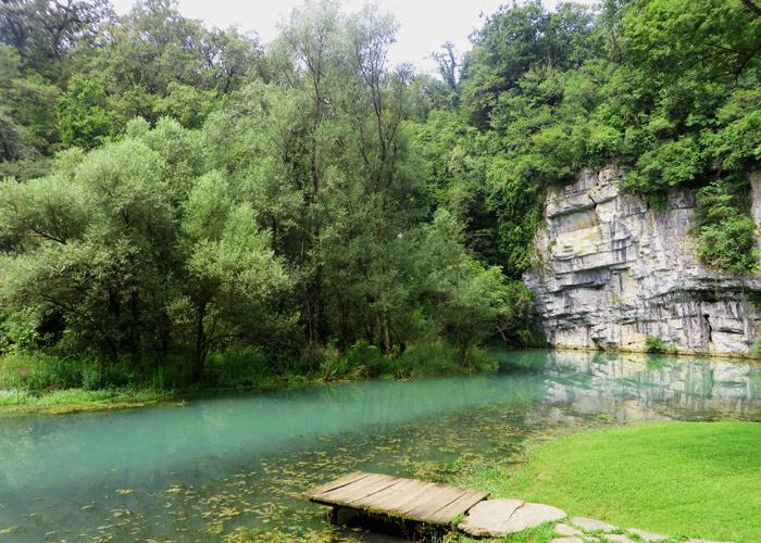 Quelle Fluss Kulpa Slowenien