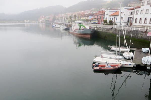 Fischerort San Esteban de Pravia in Nordspanien